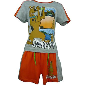 Boys Scooby Doo 2 Piece Set T-Shirt & Shorts OE1417