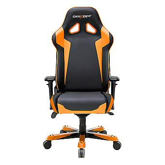 DX Racer DXRacer OH/SJ00/NO High-Back Gaming Chair PU Executive Desk Chair(Black/Orange)