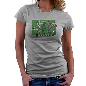Archer Confusion Superhero Green Spy Zombie Women's T-Shirt