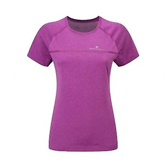 Short Sleeve Running T-shirt Purple