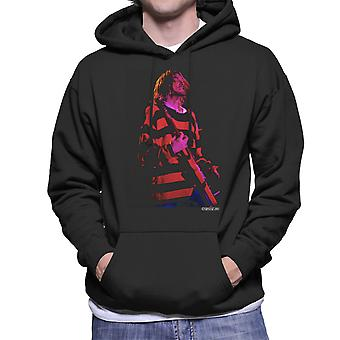 Kurt Cobain Nirvana Guitar Men's Hooded Sweatshirt