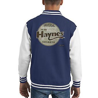 Varsity Jacket Haynes marca AK Universal Radio Transistor 650 niños