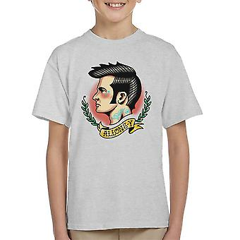 10th Doctor Who Tattoo Lets Go Allons Y Kid's T-Shirt