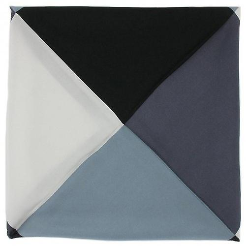 Michelsons of London Four Way Silk Handkerchief - Charcoal