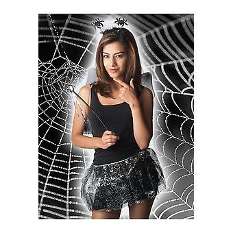 Halloween en horror meisjes Halloween Set Kids: rok, vleugels, hoofddeksels