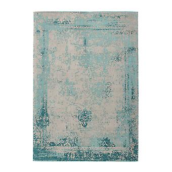 Rugs - Distressed Medallion In Turquoise
