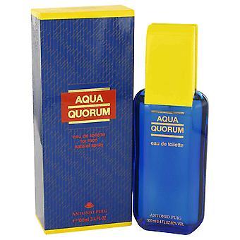 Antonio Puig Aqua Quorum Eau de Toilette 100ml EDT Spray