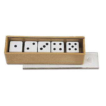 Cayro Accessories - 5 Dotted Dice (Speelgoed , Bordspellen , Tradities)