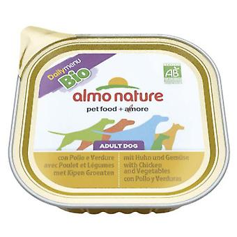 Almo nature Daily Menu Bio with Chicken and Vegetables (Dogs , Dog Food , Wet Food)