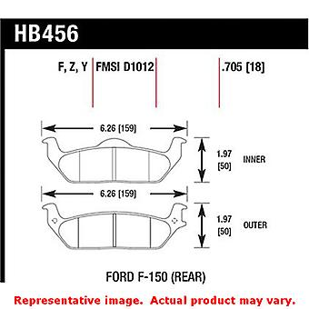 Hawk Truck/SUV Brake Pads HB456Y.705 Fits:FORD 2004 - 2011 F-150  Position: Rea