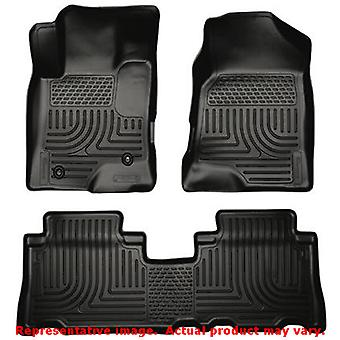 Husky Liners 96321 Black WeatherBeater Front & 2nd Seat FITS:CHEVROLET 2012 - 2