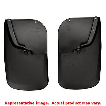Husky Liners 57681 Black Custom Molded Mud Guards   FITS:FORD 2011 - 2014 F-250