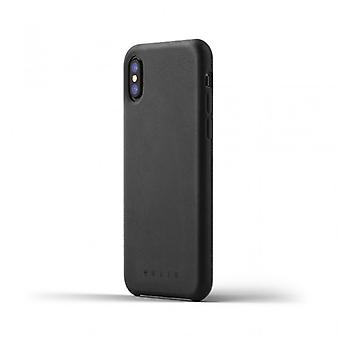 Mujjo Leather Case for iPhone X-Tan