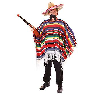 Mexican Poncho. Packaged