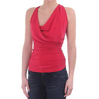 Kevan Jon Orina Top With A Cowl Neck And Cross Straps