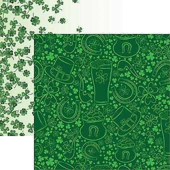 Luck Of The Irish Double-Sided Cardstock 12