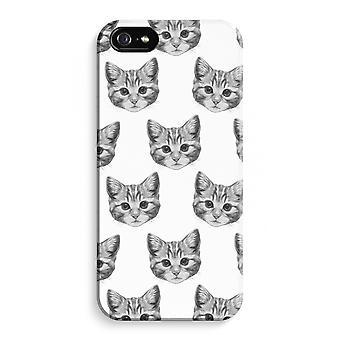iPhone 5 / 5S / SE Full Print Case (Glossy) - Kitten