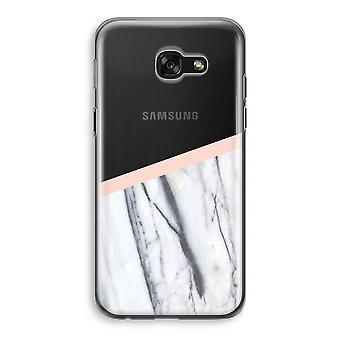 Samsung Galaxy A5 (2017) transparentes Gehäuse (Soft) - ein Hauch von Pfirsich