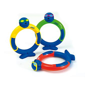 Zoggs Zoggy Dive Rings - Pack of 3