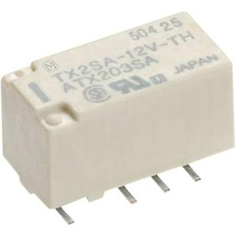 SMD relay 24 Vdc 2 A 2 change-overs Panasonic TX2S