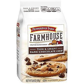 Pepperidge boerderij boerderij dun & krokant donker Chocolate Chip Cookies