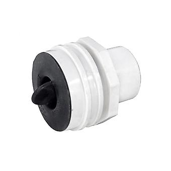 Waterway 400-9190P Flush Mount Return Fitting with Plaster Plug 400-9190P