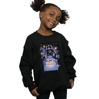 Star Wars Girls Episode VI Movie Poster Sweatshirt