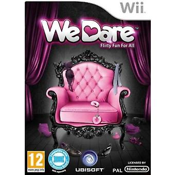 We Dare Game Wii