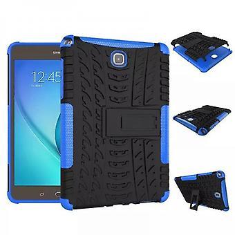 Hybrid Outdoor Schutzhülle Case Blau für Samsung Galaxy Tab A 9.7 T550 T555 Tasche