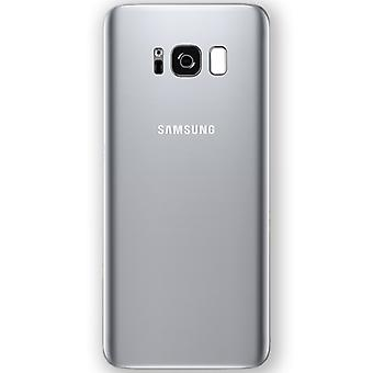 Samsung GH82-14015B battery cover cover for Galaxy S8 plus G955 G955F + adhesive pad silver