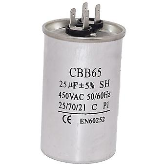 Universal 25UF/MFD AC Motor Start Capacitor 450v