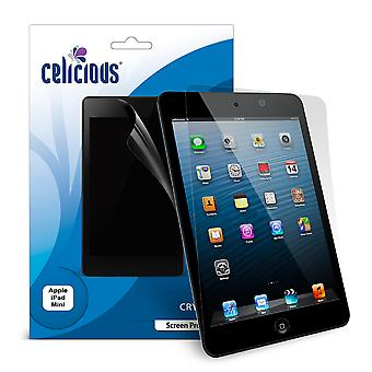 Celicious Vivid Invisible Glossy HD Screen Protector Film Compatible with Apple iPad Mini [Pack of 2]