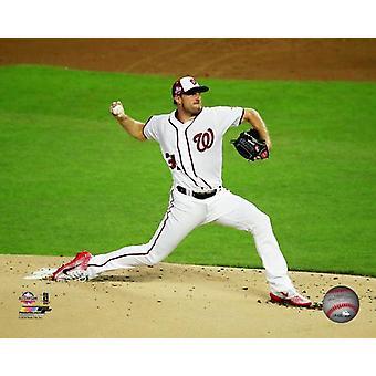 Max Scherzer 2018 MLB All-Star Game Photo Print