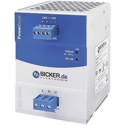 Bicker Elektronik lit-24024 Rail monté PSU (DIN) 24 Vdc 10 A 240 W 1 x