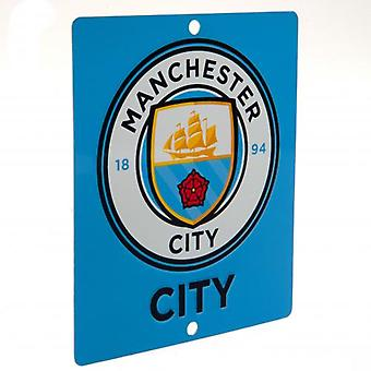 Manchester City Window Sign SQ