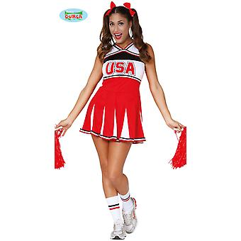 Sexy cheerleader costume for ladies Carnival Carnival sports football dancer