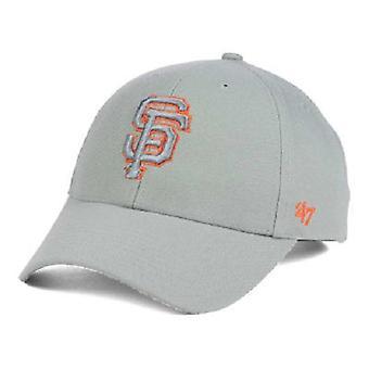 San Francisco Giants MLB 47 Brand Gray Pop Adjustable Hat