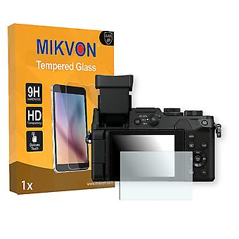 Panasonic LUMIX DMC-GX8 Screen Protector - Mikvon flexible Tempered Glass 9H (Retail Package with accessories)