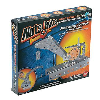 Nuts And Bolts Railway Crane Construction Set