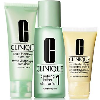 Giftset Clinique 3 step Skin Care System 1