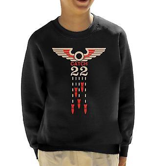 Must Read Books Catch 22 Kid's Sweatshirt