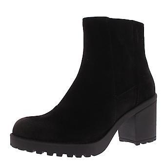 Womens Vagabond Grace Nubuck Fashion Block Heel Closed Toe Ankle Boot