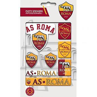 A.S. Roma Bubble-Aufkleber-Set