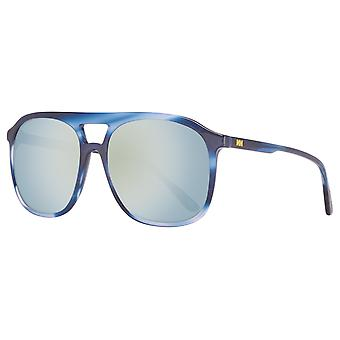 Stylish Helly Hansen mens pilot sunglasses blue
