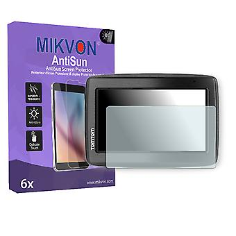 TomTom Via 130 M Europe Traffic Screen Protector - Mikvon AntiSun (Retail Package with accessories)