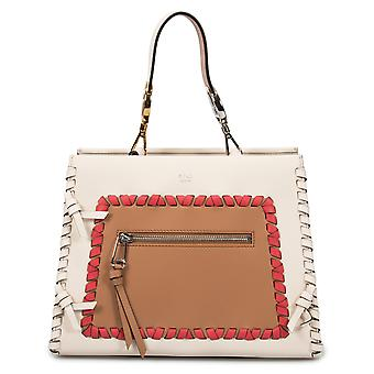 Fendi Small White Runaway Leather Bag