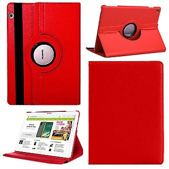 Für Apple iPad Pro 11.0 Zoll 2018 360 Grad Hülle Cover Tasche Rot Kunst Leder Case Neu