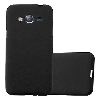 Cadorabo sleeve for Samsung Galaxy J3 / J3 duo 2016 - mobile cover from TPU silicone mats frosted design - silicone case cover ultra slim soft back cover case bumper