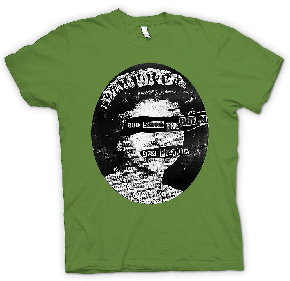 Hommes T-shirt - God Save The Queen - Punk