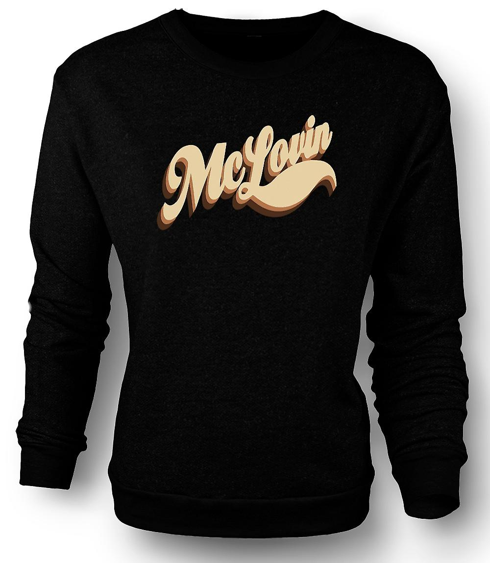 Mens Sweatshirt Mclovin - Quote